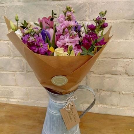 Flowery Jug/Churn