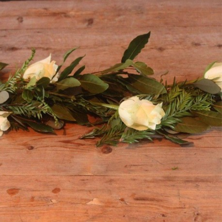 Floral Coffin Garland
